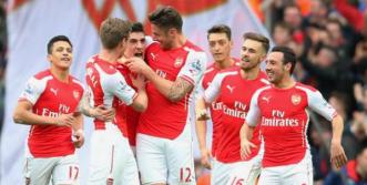 Skuat Arsenal yang banyak dihuni pemain muda.