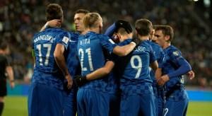 Pemain Kroasia tak peduli siapapun pencetak golnya, minumnya tetap teh botol Sosro