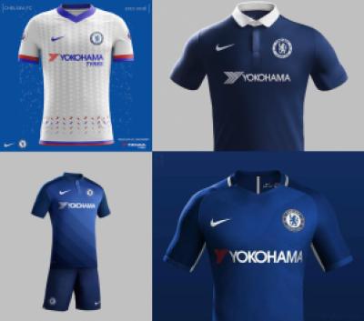 Konsep kostum baru Chelsea mulai bertebaran di social media