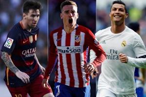 Griezmann Jadi Pesaing Kuat Messi dan Ronaldo. (Globalsoccerforum)
